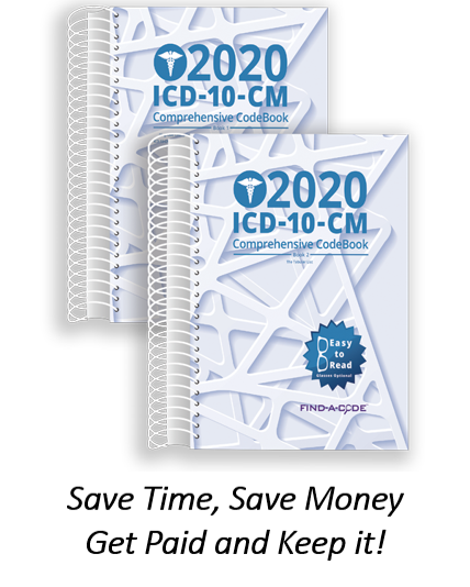 2020 ICD-10-CM Comprehensive Book
